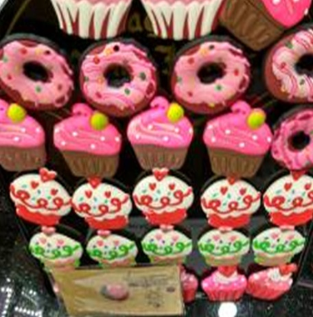 Iman silicona cupcakes donuts
